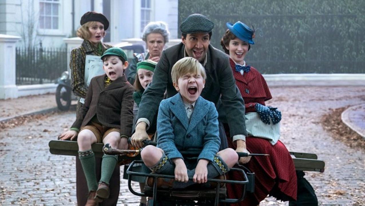 Cena de 'O Retorno de Mary Poppins' (Foto: Divulgação)