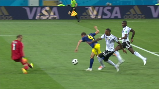 """Capitão sueco pede reação contra o México para classificar: """"Destino em nossas mãos"""""""