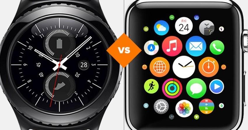 e5deb950d32 Samsung Gear S2 vs Apple Watch  comparativo de relógios