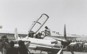 Nos anos 1980, a aeronave EMB 312 Tucano, para a área de defesa, ganhou popularidade (Foto: DIVULGAÇÃO/EMBRAER)