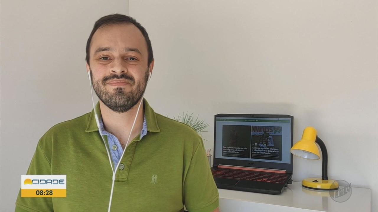 Raphael Lemos traz as notícias do esporte no Sul de Minas