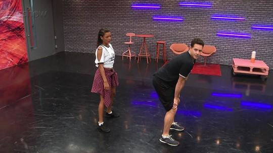 'Dança dos Famosos 2017': Elenco masculino tenta fazer o famoso 'quadradinho'; confira!