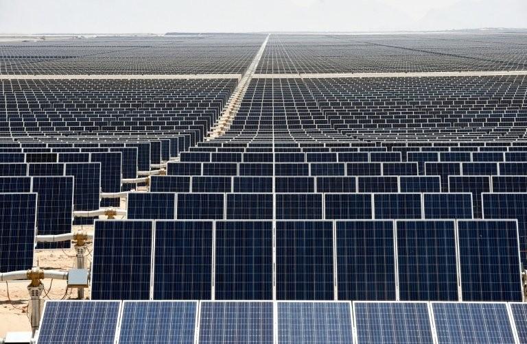 Planta solar de Villanueva, a maior da América Latina, fica no México. (Foto: Enel)