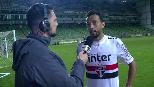 Nenê enaltece grande atuação e momento com a camisa do São Paulo