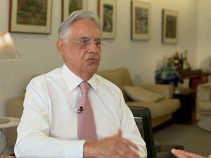 GNews - Fernando Henrique Cardoso, FHC (Foto: globonews)