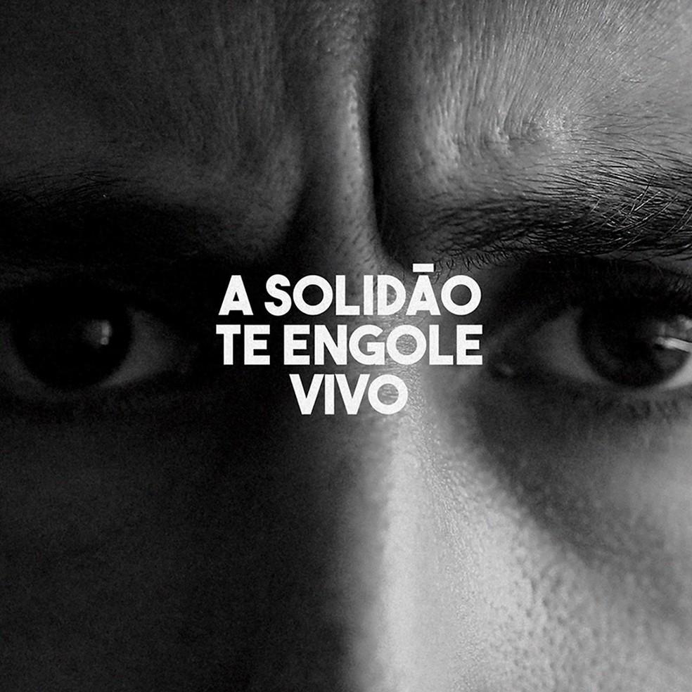 Capa do single 'A solidão te engole vivo', do Barão Vermelho — Foto: Divulgação