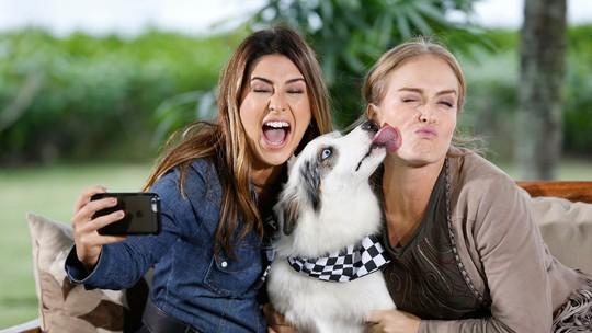 Fê Paes Leme se emociona ao ver o que seu cachorro faz quando ela não está em casa