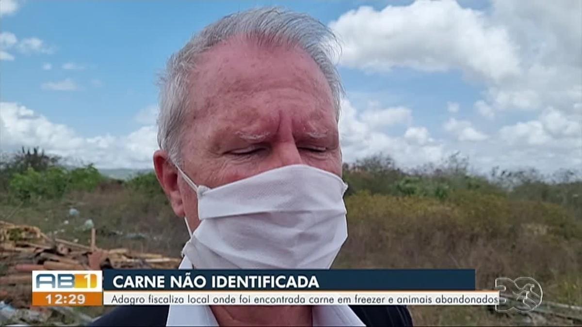 'Não está apta para consumo', diz gerente da Adagro sobre carne encontrada em freezer, em Caruaru