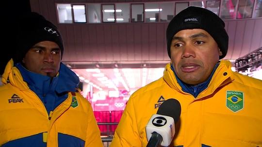 """Em 27º lugar no bobsled, dupla vê erros em detalhes: """"Grande desempenho"""""""
