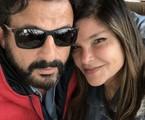 Cristiana Oliveira e o marido | Arquivo pessoal