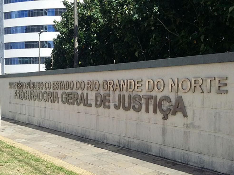 Sede do Ministério Público do RN, em Natal — Foto: Divulgação/Ministério Público do RN