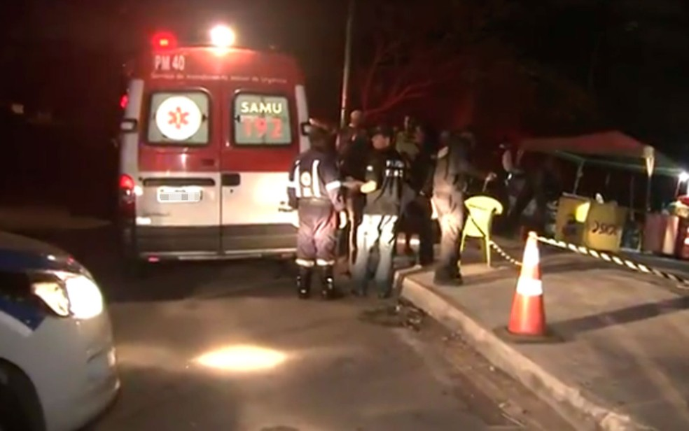 Três seguranças foram mortos em Salvador — Foto: Reprodução/TV Bahia