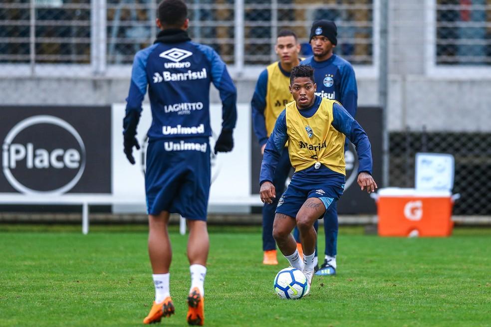 Marinho fará sua estreia no Tricolor (Foto: Lucas Uebel/Grêmio)