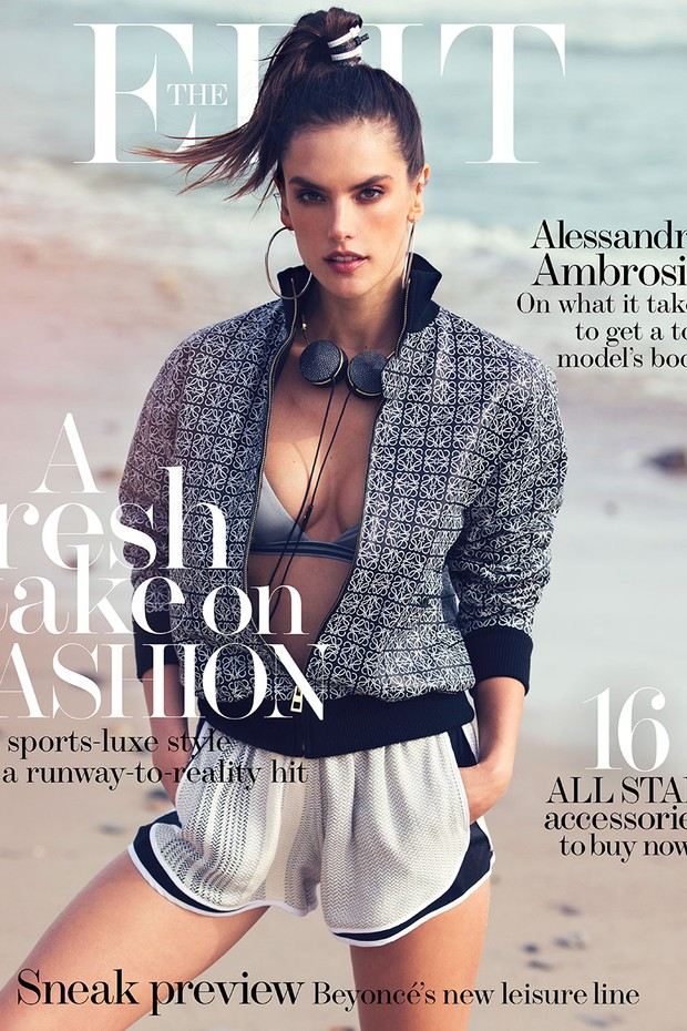 Alessandra Ambrosio (Foto: Photograph by David Bellemere and courtesy of The EDIT, NET-A-PORTER.com)