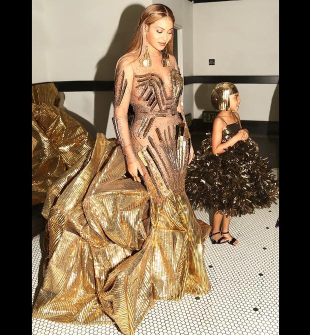 Beyonce e Blue Ive (Foto: Reprodução Instagram)