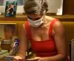 Flávia Alessandra nos bastidores de 'Salve-se quem puder'   Reprodução
