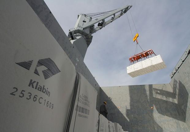 Exportação ; exportações ; commodities ; balança comercial ; Klabin ;  (Foto: Ivan Bueno/APPA/Arquivo)