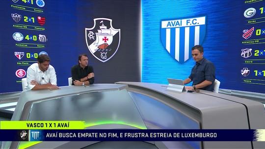 Comentaristas analisam empate do Vasco na estreia de Luxa