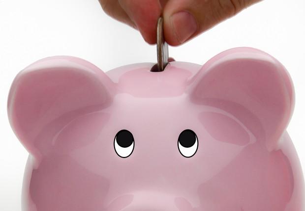 Poupança ; guardar dinheiro ; poupar ; investimento ; dinheiro ;  (Foto: Thinkstock)