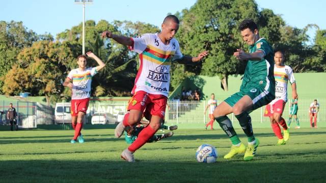 Boavista e Brusque fizeram um duelo equilibrado neste domingo