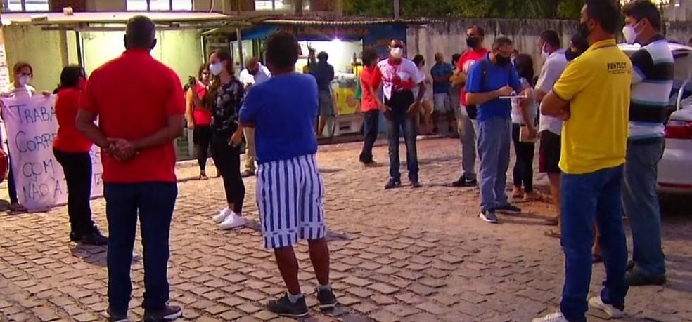 Correios encerraram greve no RN — Foto: Reprodução