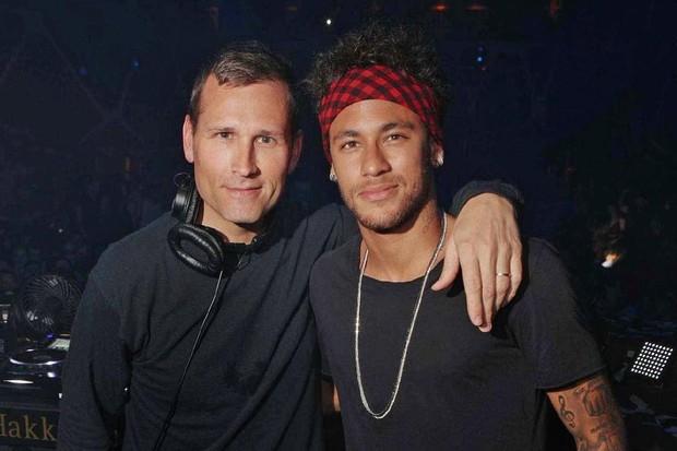 Kaskade e Neymar (Foto: reprodução instagram (@kaskade)