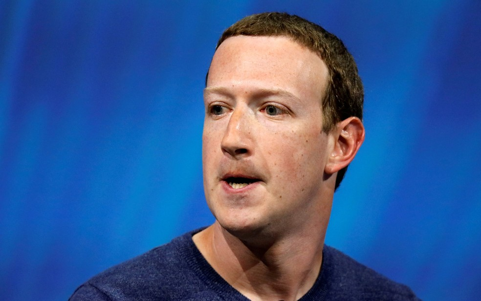 O fundador e CEO do Facebook, Mark Zuckerberg, em imagem de maio de 2018 — Foto: Charles Platiau/File Photo/Reuters