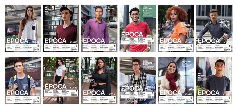 12 capas da Revista Época edição 1036 (Foto: Época )
