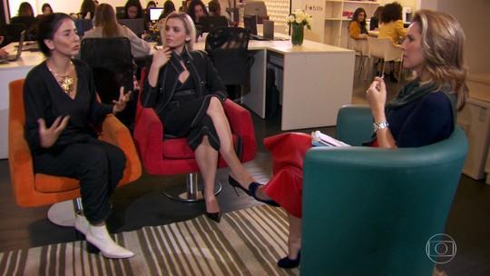Monica Iozzi, a Kim de 'A Dona do Pedaço', conhece mentora de influenciadoras digitais