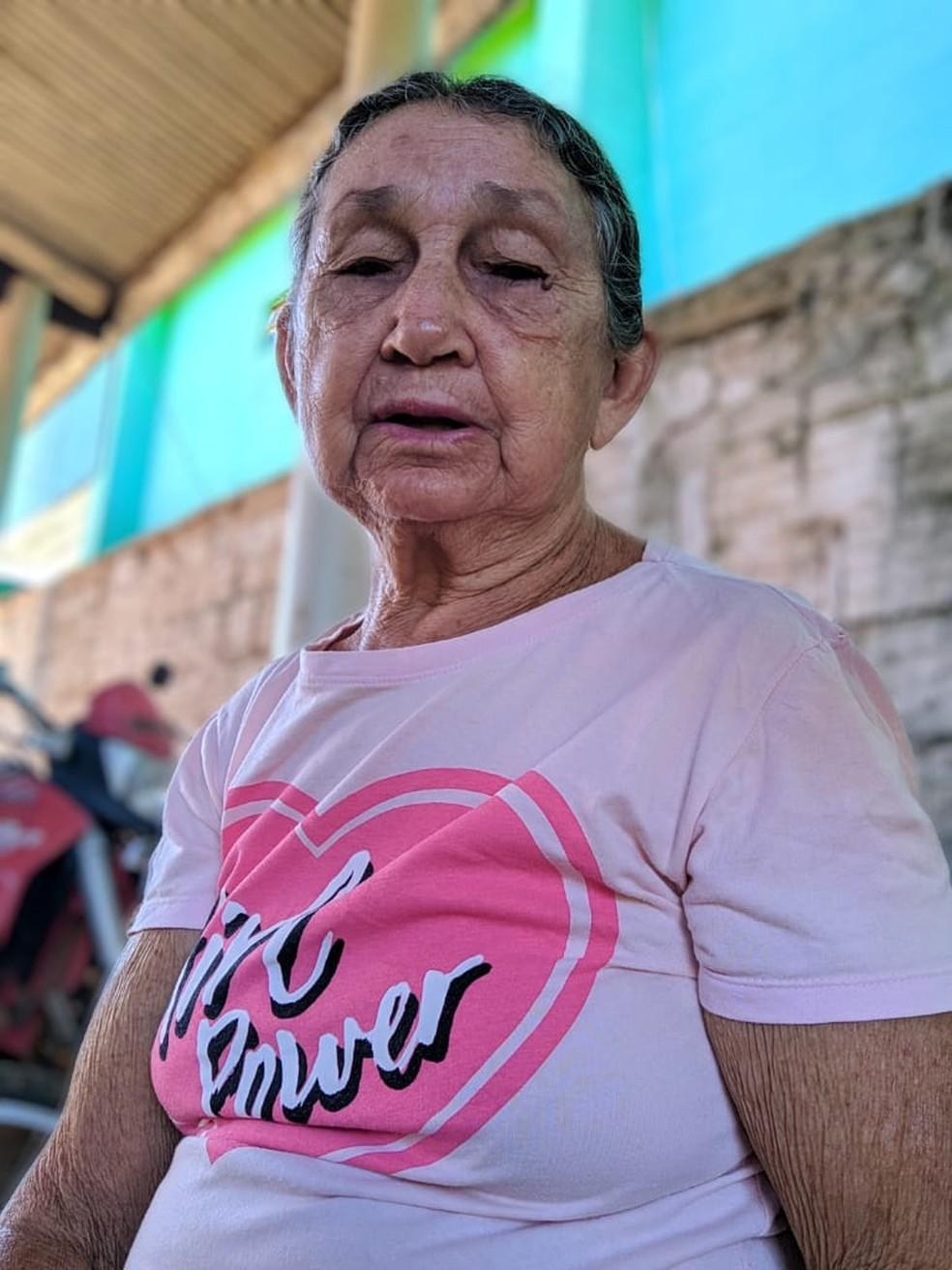 Benedita Ana Papa, de 81 anos, morreu nessa quarta-feira (3) — Foto: Divulgação