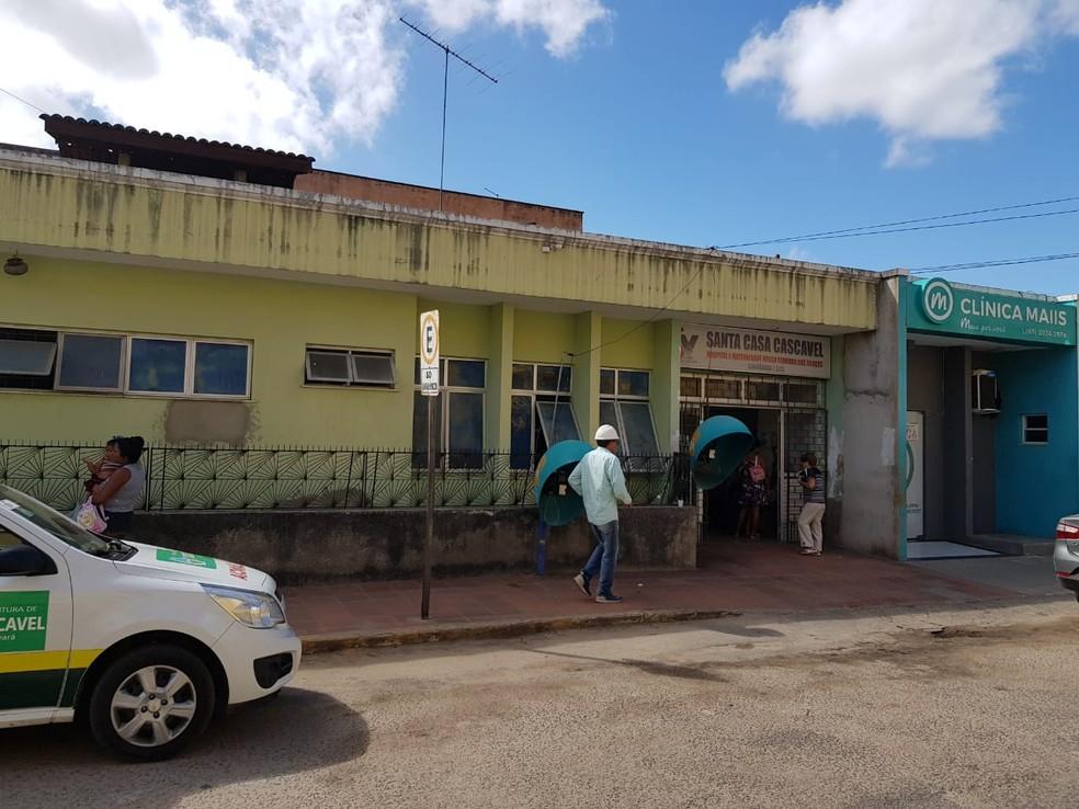 Criminoso invade hospital e mata rival que aguardava atendimento na Grande Fortaleza. — Foto: Ricardo Mota/Sistema Verdes Mares