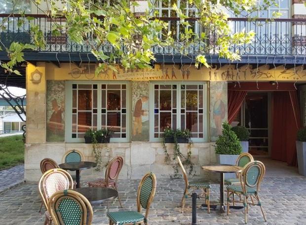 O restaurante Maison Fournaise ainda pode ser visitado e fica próximo a Paris (Foto: Privateeaser/ Reprodução)
