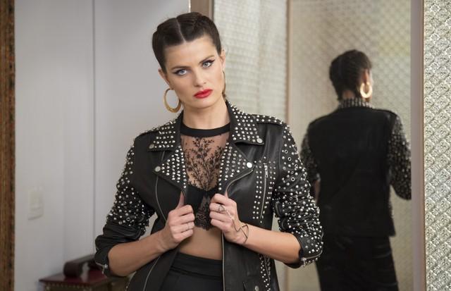 Isabeli Fontana, no Close no Closet (Foto: Rafael Avancini)