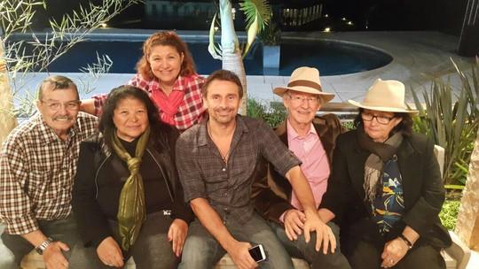 Murilo Rosa comemora bodas de ouro de seus pais: 'Emoção e orgulho'