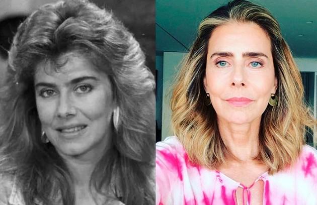 Maitê Proença viveu Camila. Ela está longe da TV desde 2017, quando fez a série 'Me chama de Bruna', da Fox (Foto: Reprodução)