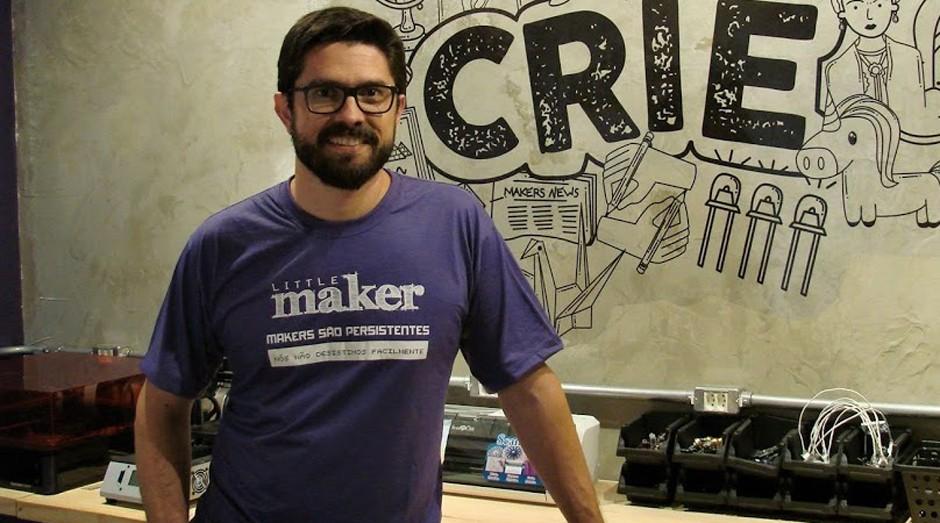 Diego Thuler, fundador da Little Maker (Foto: Divulgação)