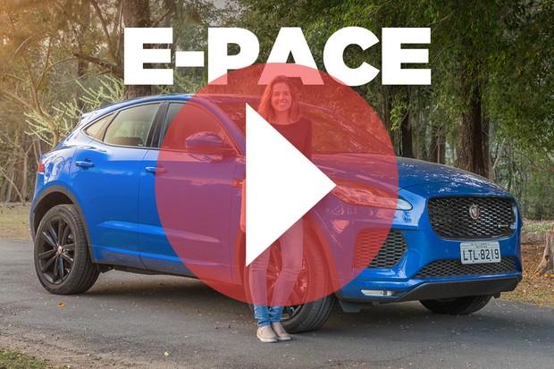 Vídeo: Jaguar E-Pace (Foto: Autoesporte)