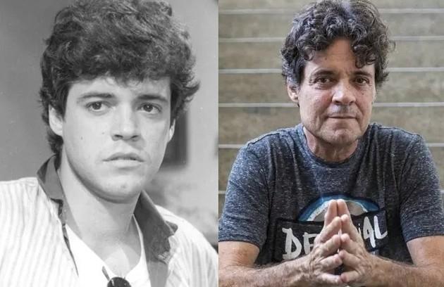 Felipe Camargo foi Pedro, filho de Renato, na trama de Lauro Cesar Muniz. Esteve no ar recentemente na série 'Todas as mulheres do mundo' (Foto: Reprodução)