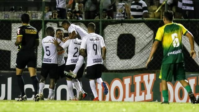 Corinthians x Cuibá, pela Copinha