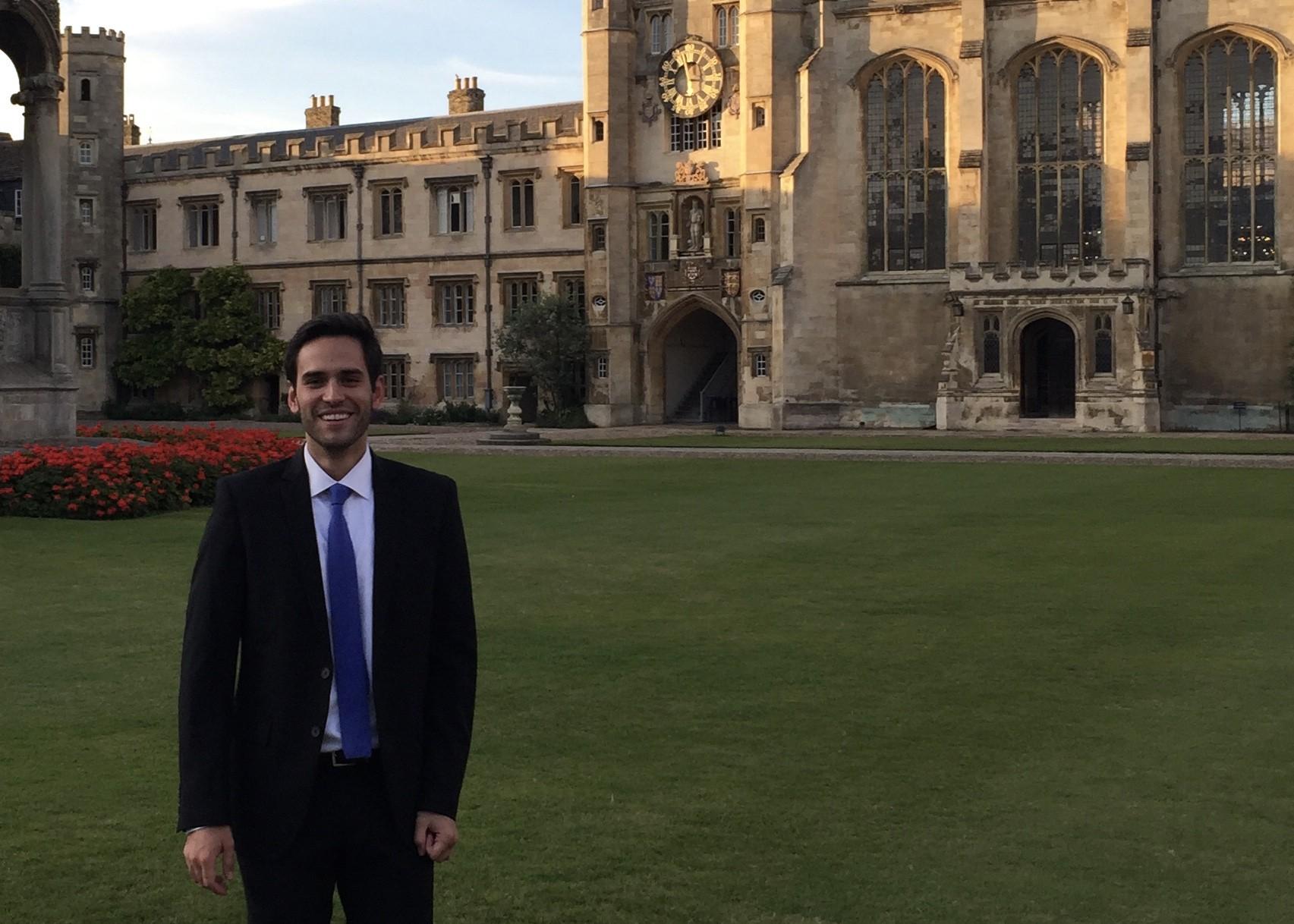 João Moraes – MBA turma 2015 (Foto: Fernanda Lopes de Macedo Thees)