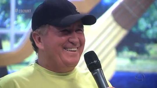 O cantor mais Amado do Brasil, no É Bem Mato Grosso deste sábado!