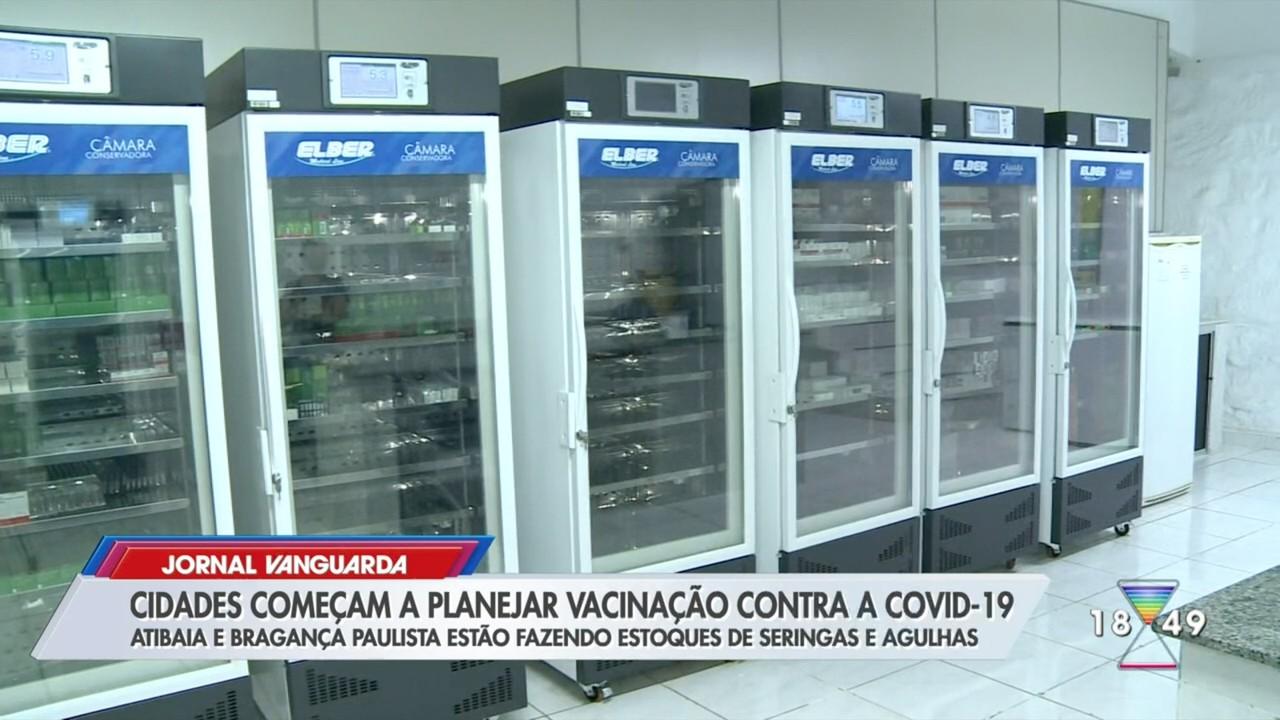 Bragança Paulista e Atibaia se preparam para vacinação contra Covid-19