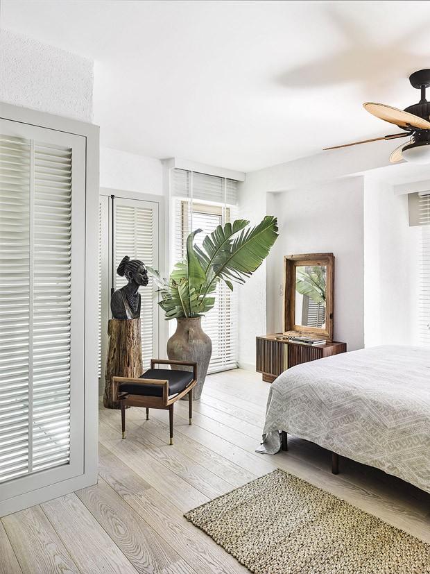 Décor do dia: quarto aconchegante com peças de fibras naturais (Foto: Divulgação)