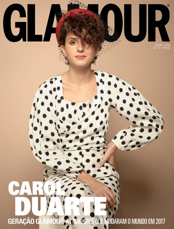 Carol Duarte na Glamour de abril (Foto: Cassia Tabatini)