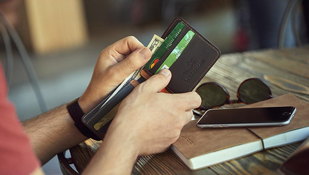 A Volterman parece uma carteira comum, mas tem funções smart (Foto: Divulgação/Indiegogo)