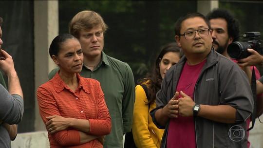 Marina Silva diz que não trata voto 'como se fosse herança'