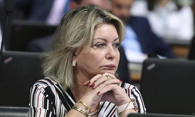 A senadora e ex-juíza Selma Arruda