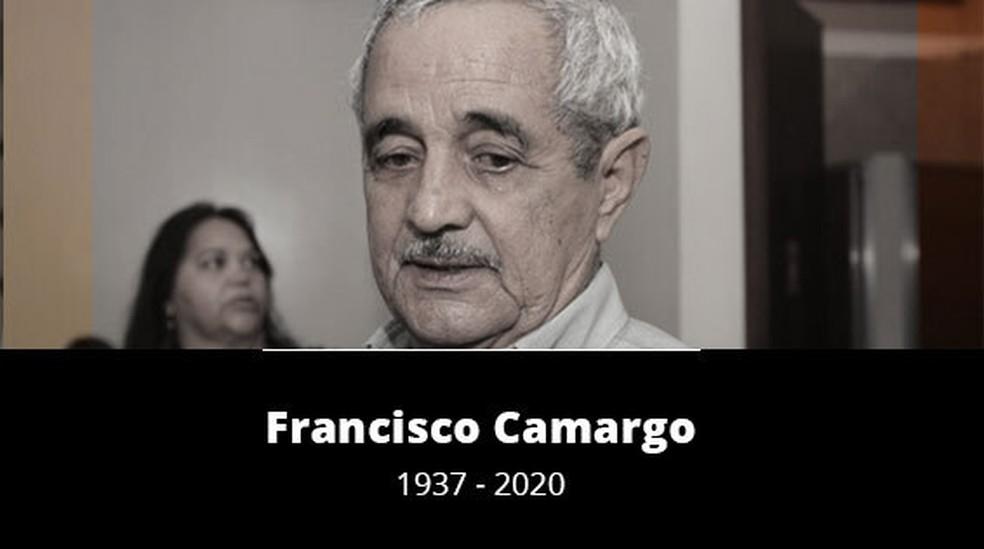 Morre Francisco Camargo em Goiânia, Goiás — Foto: Arte/G1