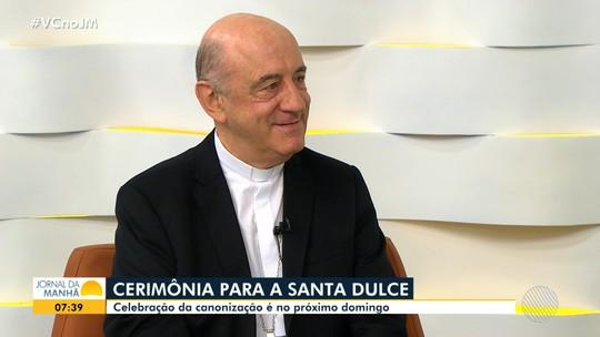 Dom Murilo Krieger fala da emoção na canonização de Santa Dulce e ao presidir 1ª missa: 'Experiência de fé'