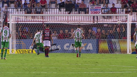 O gol de Atlético-GO 0 x 1 Juventude pela 28ª rodada do Campeonato Brasileiro da Série B